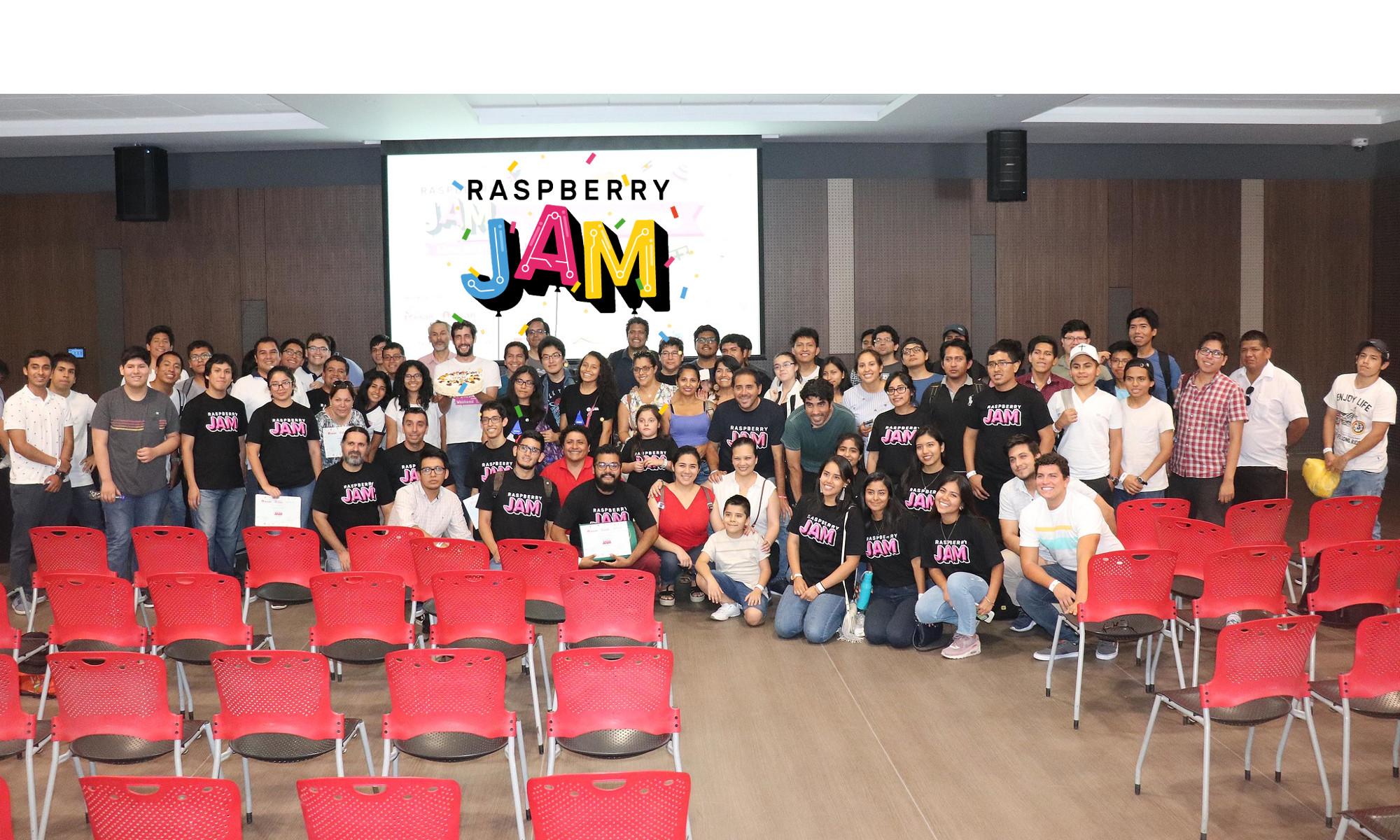 Raspberry Jam en Lima, Perú